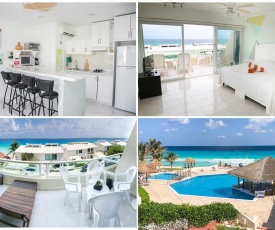 Ocean View Beach Apartment Brisas 4101 Cancun Hotel Zone