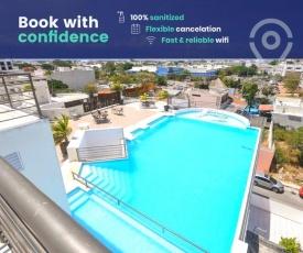 Paradise in Playa - Rooftop Pool, Walk to Beach!