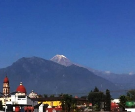 House With View To The Magic Orizaba People