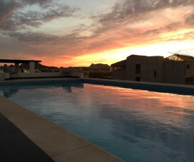 Cabo Condo with Ocean Views and Pool, Less Than 1 Mi to Beach!