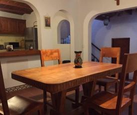 Casa remodelada, estilo mexicano.