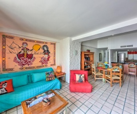 Colorful Condo on Marina with Balcony and Water Views!