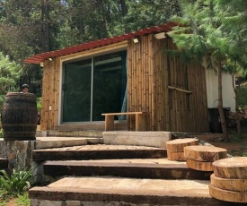 Cabaña romántica en el bosque!