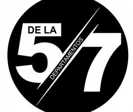 Departamentos de la 57