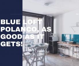 Blue Loft In Polanco With Private Terrace