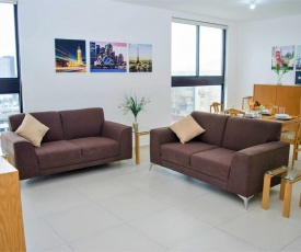 Best location in Monterrey! New, fully equipped condo. Midtown 1103